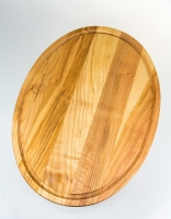 The Essential Ingredient Cherry Wood Oval Carving Board 38cm x 28cm