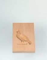 The Essential Ingredient Pear Wood Shortbread Mould - Dove Design 6cm x 8cm
