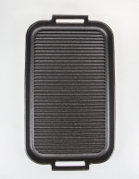 Skeppshult Cast Iron Grill Plate with Handles 'Noir' 40cm x 25cm