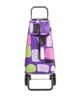 Rolser 'Imax' Trolley - 'Bancal' design Purple