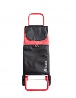 Rolser 'Imax' Trolley MF Convert -  'Original' design with coloured handle Red