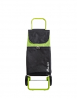 Rolser 'Mountain' Trolley - 'Original' design with coloured handle Lime