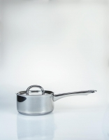 The Essential Ingredient Stainless Steel Saucepan with Lid 14cm
