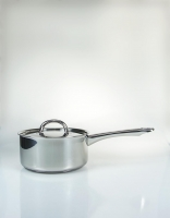 The Essential Ingredient Stainless Steel Saucepan with Lid 16cm