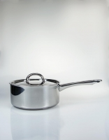 The Essential Ingredient Stainless Steel Saucepan with Lid 18cm