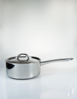 The Essential Ingredient Stainless Steel Saucepan with Lid 20cm