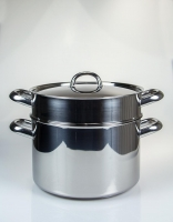 The Essential Ingredient Stainless Steel Steamer Set 24cm