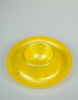 Acrylic Glass Egg Cup - Sunny Yellow 10cm