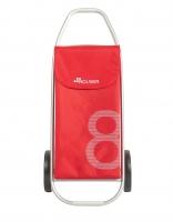 Rolser 'Figure 8' Trolley - 'Model 8' design - 2 wheels Red