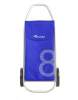 Rolser 'Figure 8' Trolley - 'Model 8' design - 2 wheels Blue