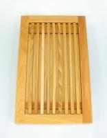 The Essential Ingredient Beech Wood Bread Board 40cm x 25cm x 2.5cm