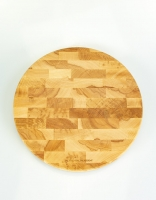 The Essential Ingredient Beech Wood Round Chopping Board 35cm x 4cm