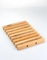 Stellar Beech Wood Exentendable Trivet 15cm x 13cm-20cm