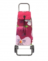 Rolser 'Taku' Trolley - 2 Wheels Floral Pink
