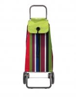 Rolser 'Imax' Trolley - 'Iris' design - 2 wheels Lime green