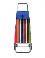 Rolser 'Imax' Trolley - 'Iris' design - 2 wheels Blue