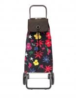 Rolser 'Imax' Trolley - 'Arazzo' design - 2 wheels Black
