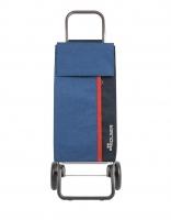 Rolser 'Kangaroo' Trolley - 'Tweed' design - 2 wheels Blue