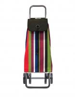 Rolser 'Imax' Trolley - 'Iris' design - 4 wheels Black