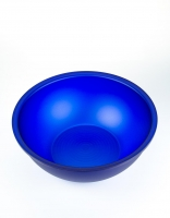 Acrylic Glass Salad Bowl - Sky Blue 29.5cm
