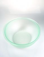 Acrylic Glass Salad Bowl - Ice Green 29.5cm