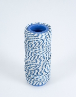The Essential Ingredient White & Blue Rayon Butcher's Twine 30M